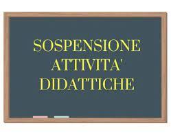 Circolare n. 123 – sospensione delle attività didattiche in presenza e a distanza – aprile 2021
